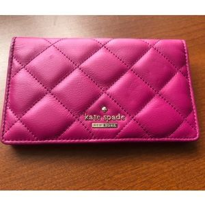 NEW Kate Spade ♠️ Emerson Place Berry Tart Wallet